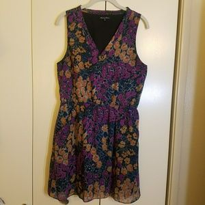 Broadway & Broome Madewell Silk Floral Dress, 8 M
